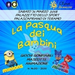 La Pasqua dei Bambini al Palasport di Teramo il 31 marzo 2018