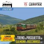 Doppia corsa per il Treno di Pasquetta da Sulmona a Roccarso il 2 aprile 2018