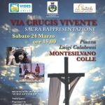 Sacra rappresentazione della Via Crucis a Montesilvano il 24 marzo 2018