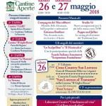 Cantine Aperte 2018 in Abruzzo il 26 e 27 maggio 18