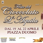Festa del Cioccolato L'Aquila dal 19 al 22 aprile 2018