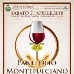 Festa Pane, Olio & Montepulciano a Ofena il 21 aprile 2018