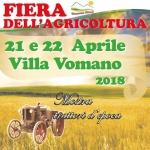 Fiera dell'Agricoltura a Villa Vomano il 21 e 22 aprile 2018