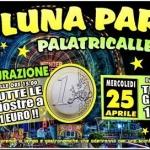 Luna Park al Palatricalle di Chieti: giostre dal 21 aprile al 20 maggio 2018