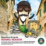Raduno Ufficiale Harley Davidson al Borgo d'Abruzzo il 22 aprile 2018