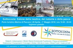 Sottocosta al Porto Turistico di Pescara dal 28 aprile al 1° maggio 2018