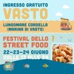 Festival dello Street Food a Vasto dal 22 al 24 giugno 2018