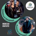 Madonna dei Sette Dolori 2018 a Pescara con i Gemelli Diversi e Alessio Bernabei
