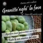 """Sagra de """"Li Granitte 'nghì' la fave"""" 2018 a Morro d'Oro"""