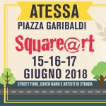 Square@rt ad Atessa dal 15 al 17 giugno 2018