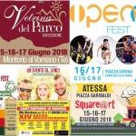 Eventi in Abruzzo dal 15 al 17 giugno 2018