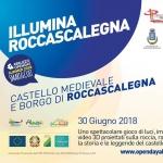 Illumina Roccascalegna il 30 giugno 2018