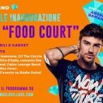 Inaugurazione della Food Court con Andrea Damante al Città Sant'Angelo Village Outlet