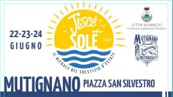 Jisce Sole a Mutignano dal 22 al 24 giugno 2018
