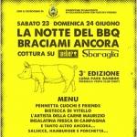 La Notte del Barbecue - Braciami Ancora a Torrevecchia Teatina il 23 e 24 giugno 2018