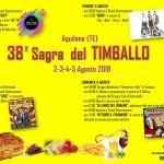 Sagra del Timballo ad Aquilano di Tossicia dal 2 al 5 agosto 2018