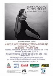 Tony Vaccaro - Shots of Life: mostra fotografica a Pescara dal 23 giugno al 14 luglio 2018