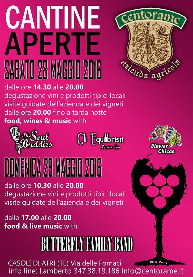 Cantine Aperte 2016 in Abruzzo il 28 e 29 maggio: tutti i programmi 13