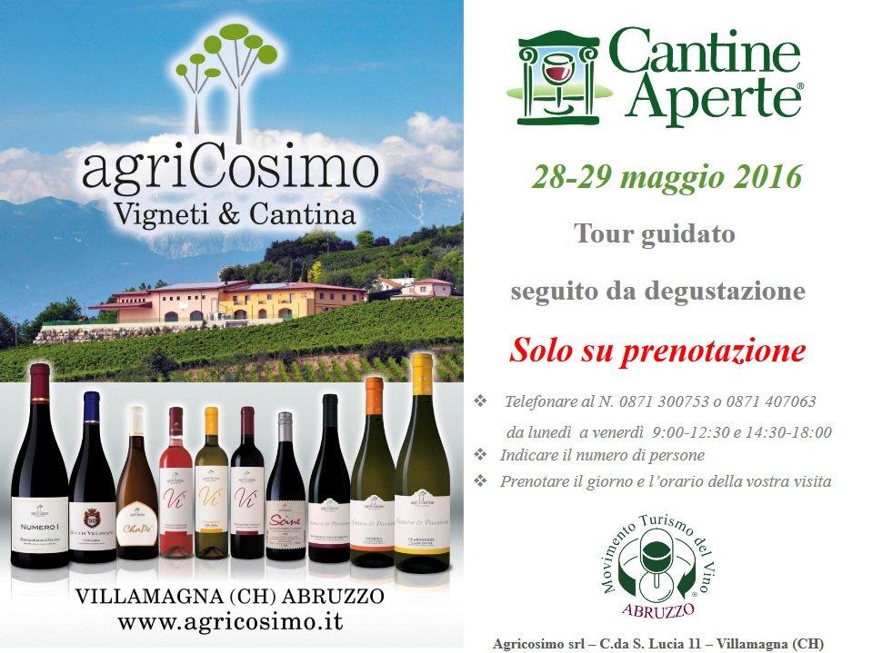 Cantine Aperte 2016 in Abruzzo il 28 e 29 maggio: tutti i programmi 21