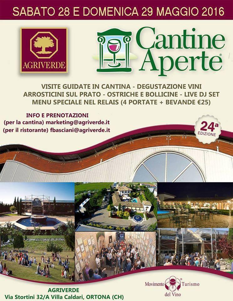 Cantine Aperte 2016 in Abruzzo il 28 e 29 maggio: tutti i programmi 31