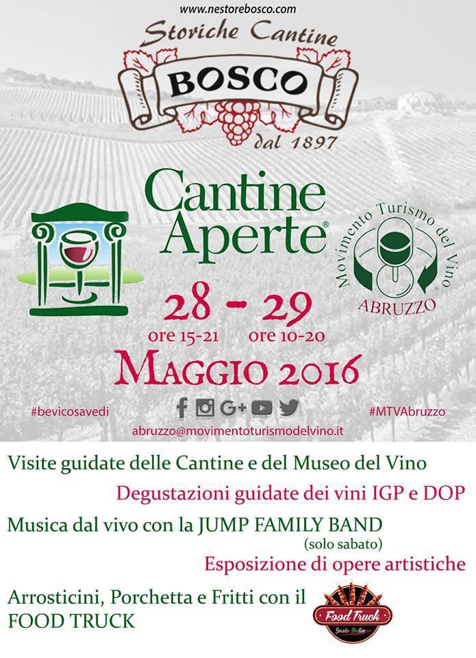 Cantine Aperte 2016 in Abruzzo il 28 e 29 maggio: tutti i programmi 20