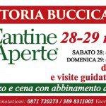 Cantine aperte 2016 - Programma Buccicatino
