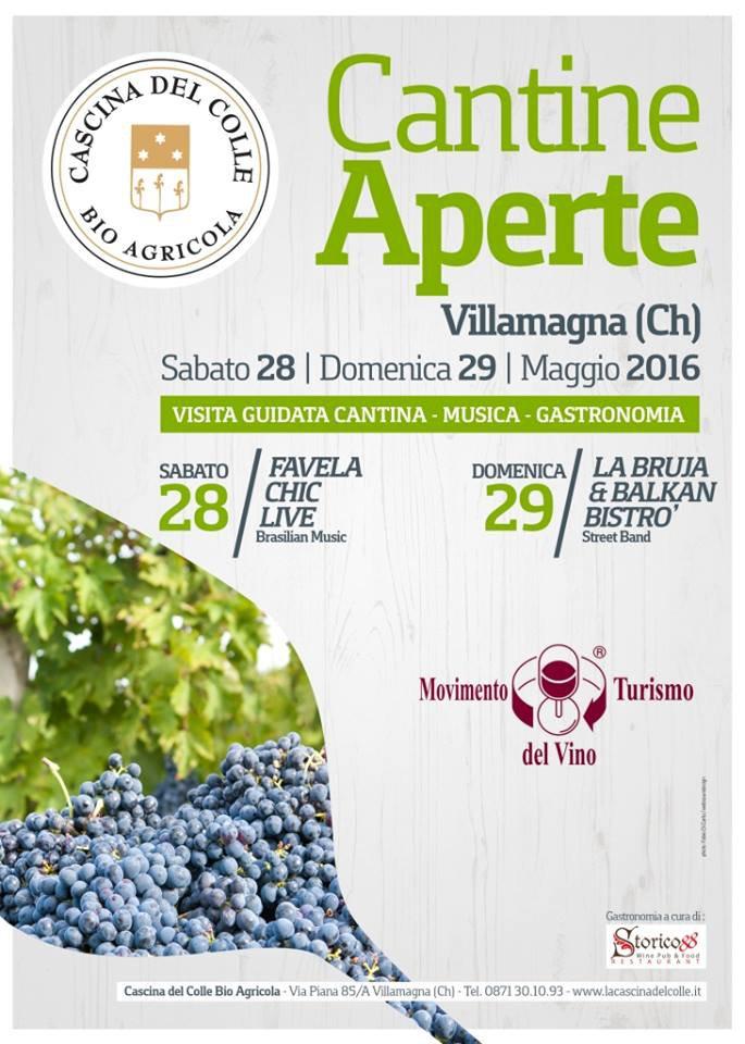 Cantine Aperte 2016 in Abruzzo il 28 e 29 maggio: tutti i programmi 28