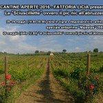 Cantine aperte 2016 - Programma Fattoria Licia