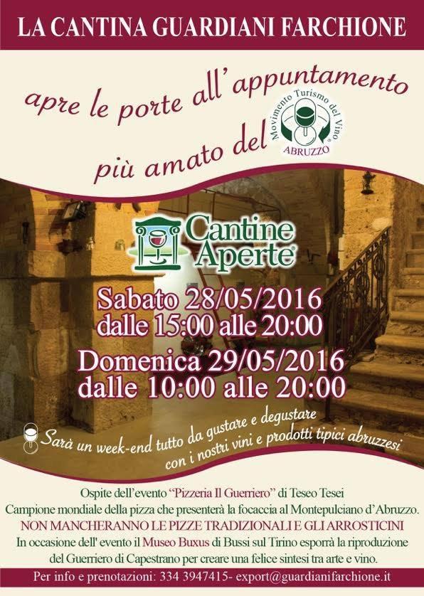 Cantine Aperte 2016 in Abruzzo il 28 e 29 maggio: tutti i programmi 19