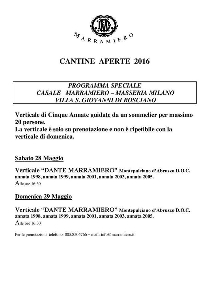 Cantine Aperte 2016 in Abruzzo il 28 e 29 maggio: tutti i programmi 4
