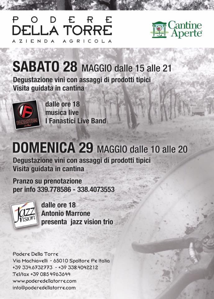 Cantine Aperte 2016 in Abruzzo il 28 e 29 maggio: tutti i programmi 3
