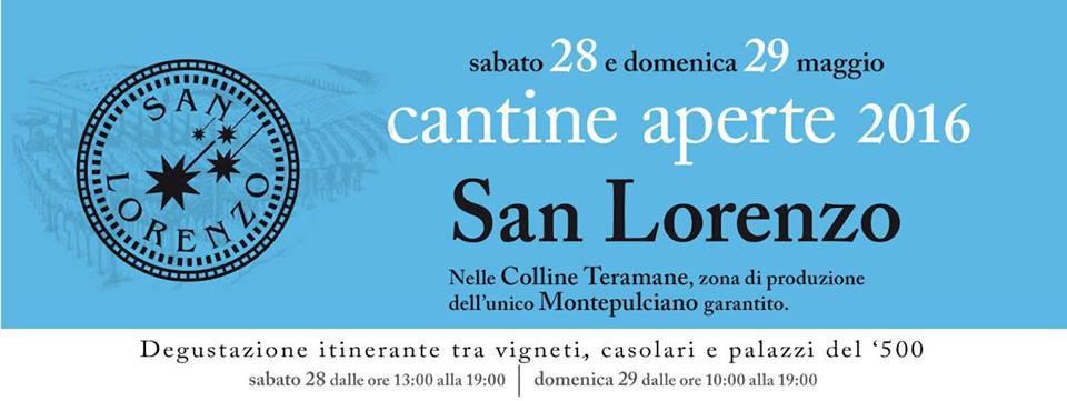 Cantine Aperte 2016 in Abruzzo il 28 e 29 maggio: tutti i programmi 10