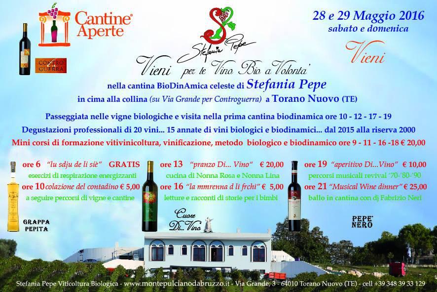 Cantine Aperte 2016 in Abruzzo il 28 e 29 maggio: tutti i programmi 9