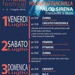 Sport Fitness Festival 2016 - Francavilla al Mare - Piscina