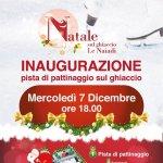 Pista di Pattinaggio sul Ghiaccio a Le Naiadi dal 7 dicembre al 7 gennaio