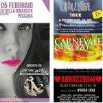 Eventi in Abruzzo dal 3 al 5 febbraio 2017