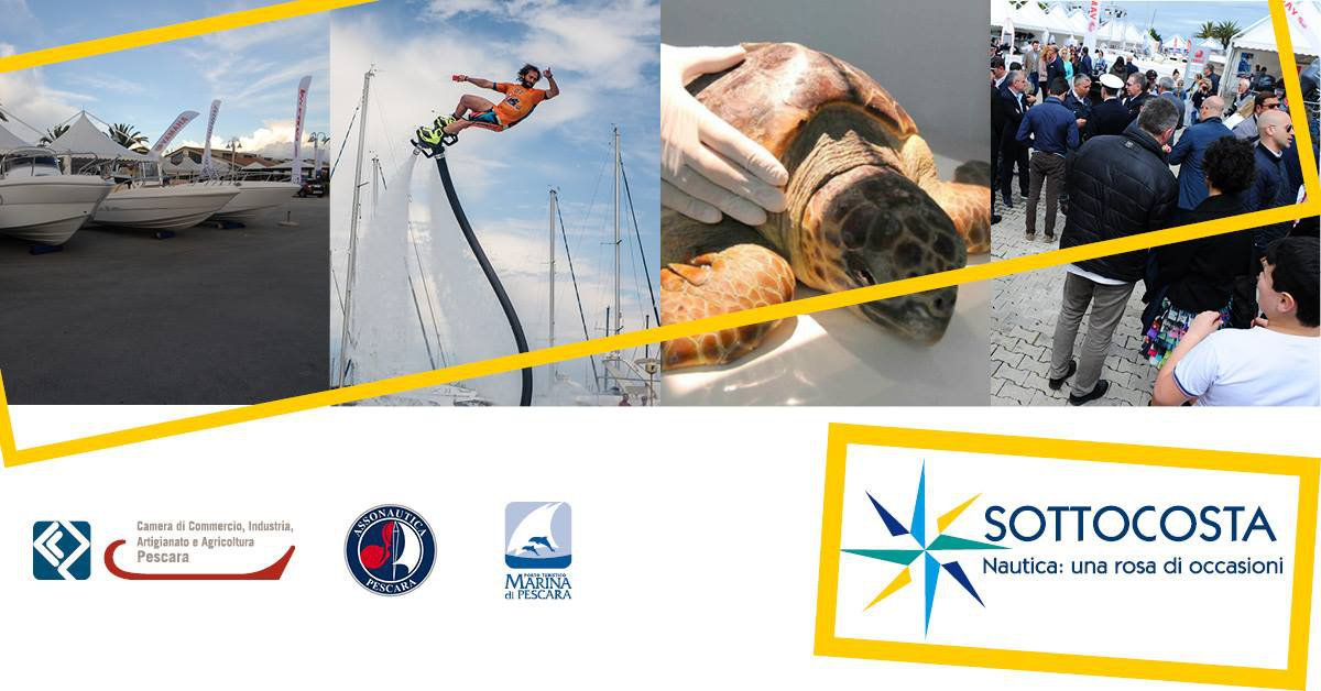 Pescara Camera Di Commercio : Sottocosta al porto turistico di pescara dal 22 al 25 aprile 2017