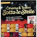 Cinema e Teatro sotto le Stelle 2017 al Centro d'Abruzzo Ipercoop di San Giovanni Teatino