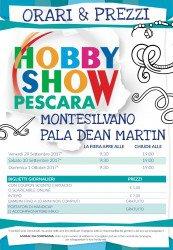 Hobby Show Pescara Autunno 2017 dal 29 settembre al 1° ottobre 1