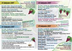 Festa dell'Uva 2017 a Mosciano Sant'Angelo: Uva Viva Uva dal 21 al 24 settembre 1