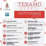 Gli Eventi per il Settembre 2017 a Teramo