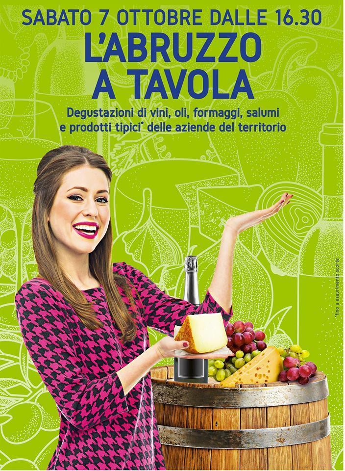 L'Abruzzo a Tavola all'Auchan di Pescara il 7 ottobre 2017 ...