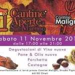 Cantine Aperte a San Martino in Abruzzo l'11 e il 12 novembre 2017 1