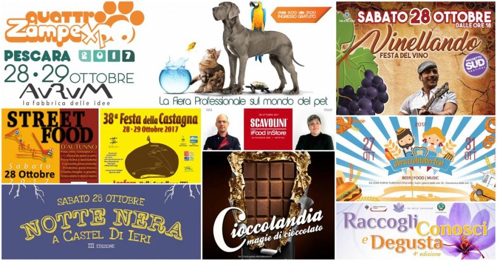 Eventi in Abruzzo dal 27 al 29 ottobre 2017