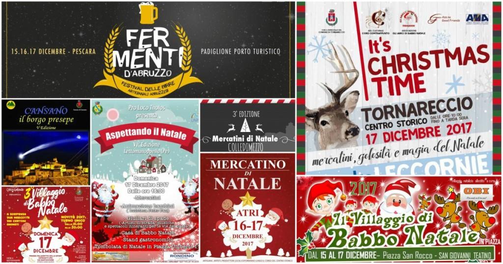 Eventi in Abruzzo dal 15 al 17 dicembre 2017