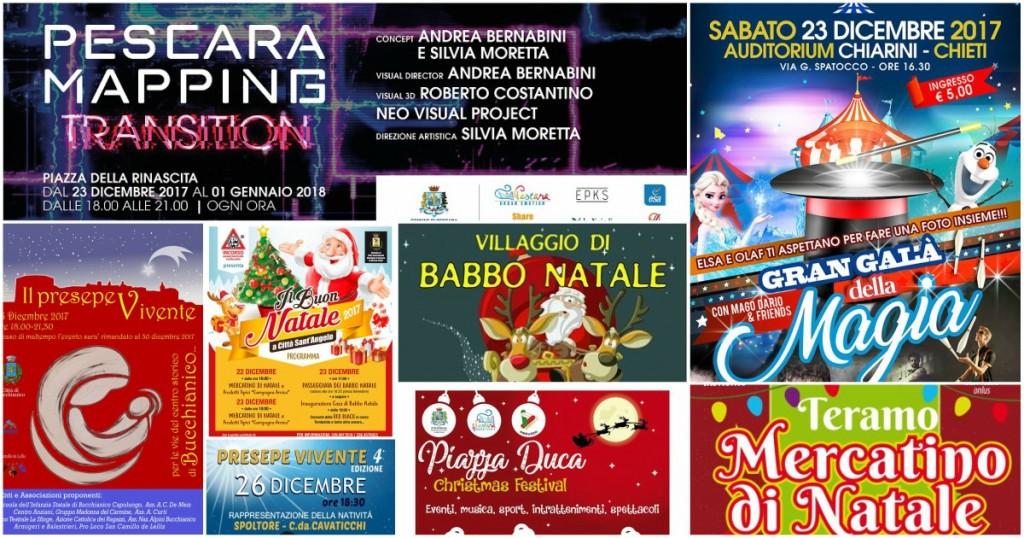 Eventi in Abruzzo per Natale 2017 - dal 22 al 26 dicembre