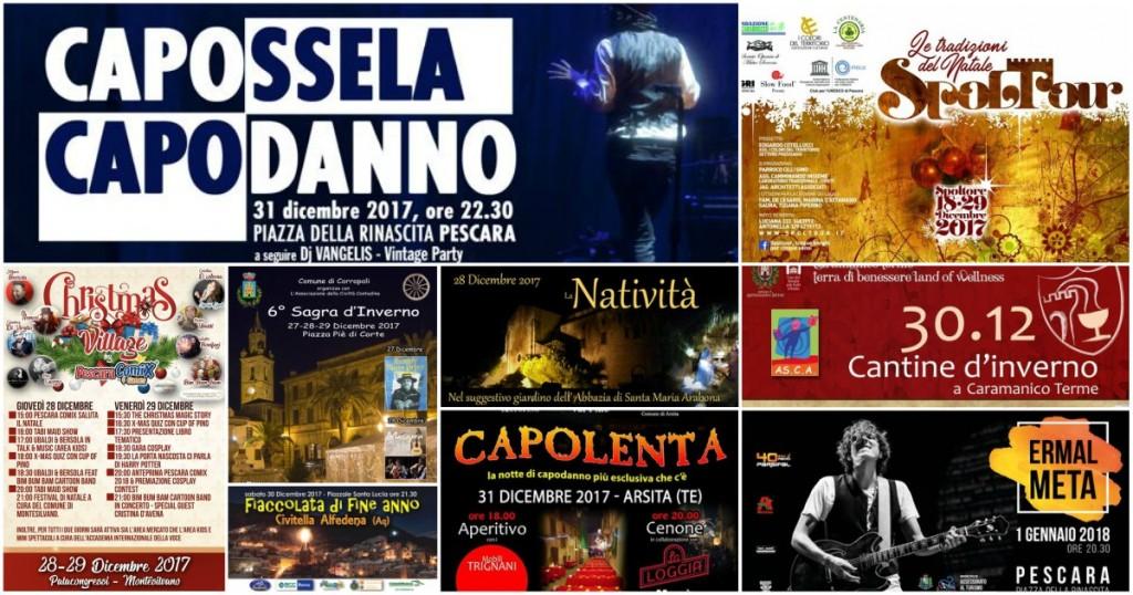 Eventi per il weekend di Capodanno 2018 in Abruzzo