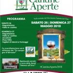 Cantine Aperte 2018 in Abruzzo il 26 e 27 maggio 12