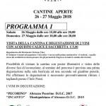 Cantine Aperte 2018 in Abruzzo il 26 e 27 maggio 16