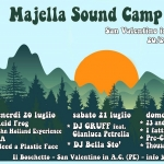 Majella Sound Camp 2018 a San Valentino in A.C.